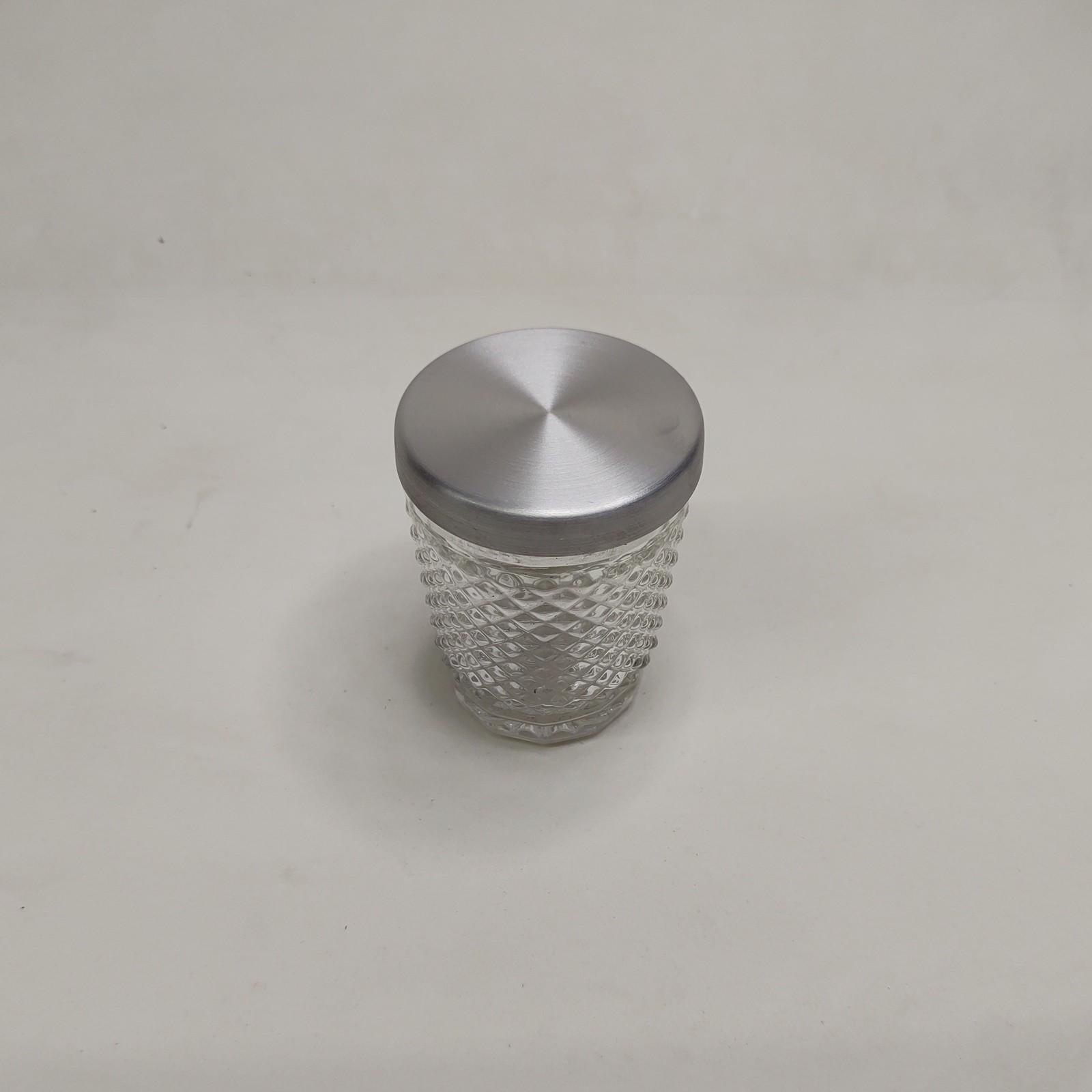 Copo Bico de Jaca Com tampa de Alumínio 12 uni.