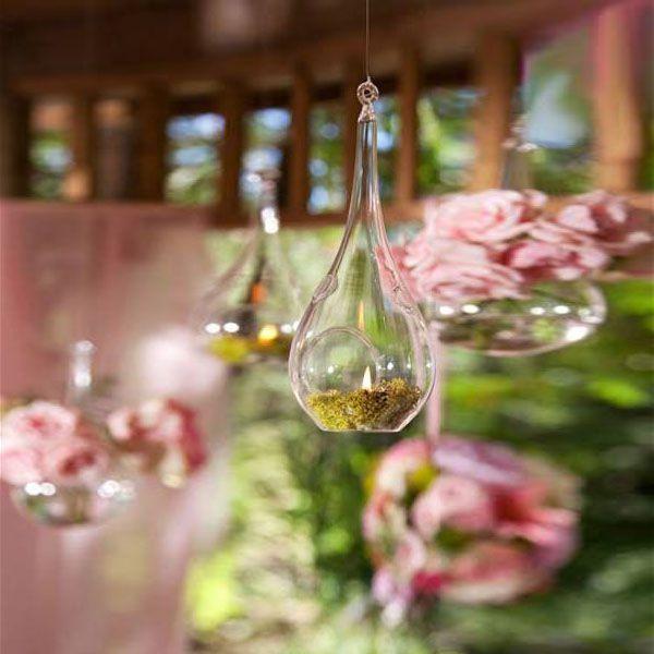 Gota de Vidro Para Vela (24 unidades) - Vidros Para Velas
