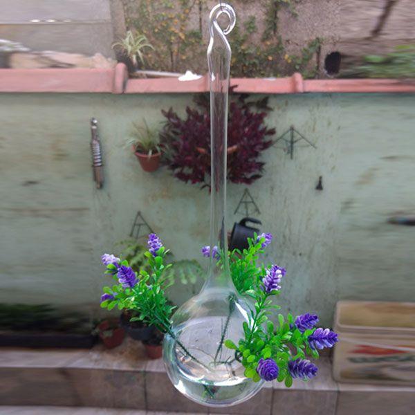 Gotão de Vidro Para Decoração Com Flores (2 uni)