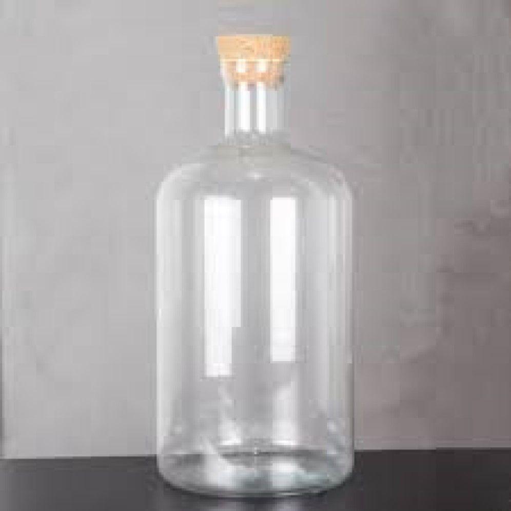 Porta Rolha Garrafa De Vidro Arizona - 10 litros