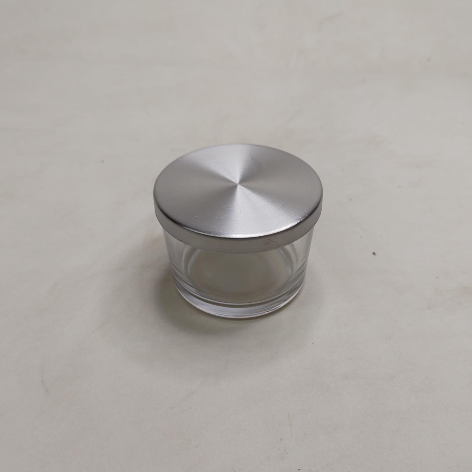 Pote Patê de Vidro Com Tampa Aluminio 150ml - 10 unid.