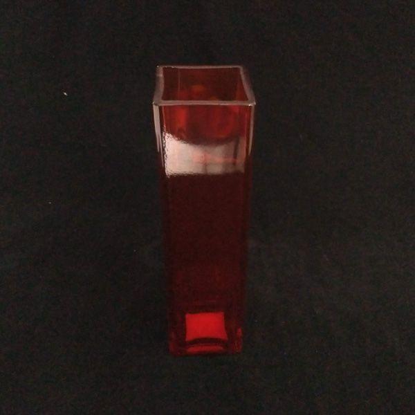 Solitário de Vidro Quadrado Colorido 6x21