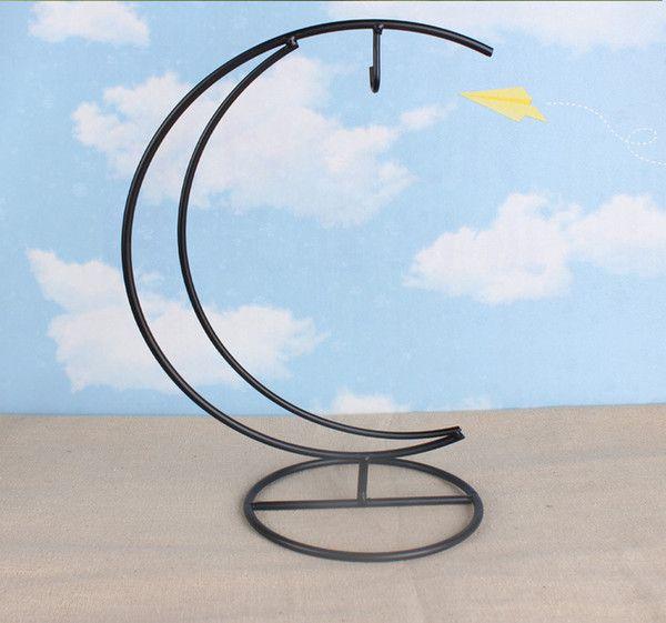 Suporte De Ferro Lua Para Esfera de Vidro