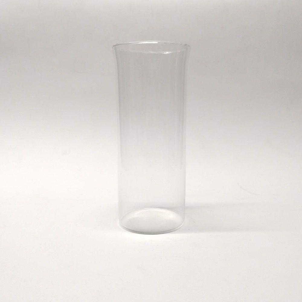 Tubo de Vidro Copo Vela 8x18 (cx 6 unid)