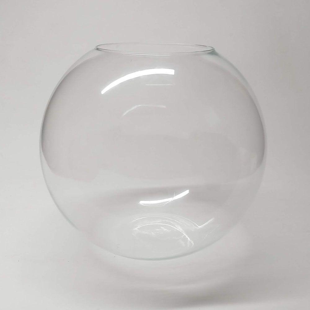 Vaso de Vidro Aquário Gigante 32 litros