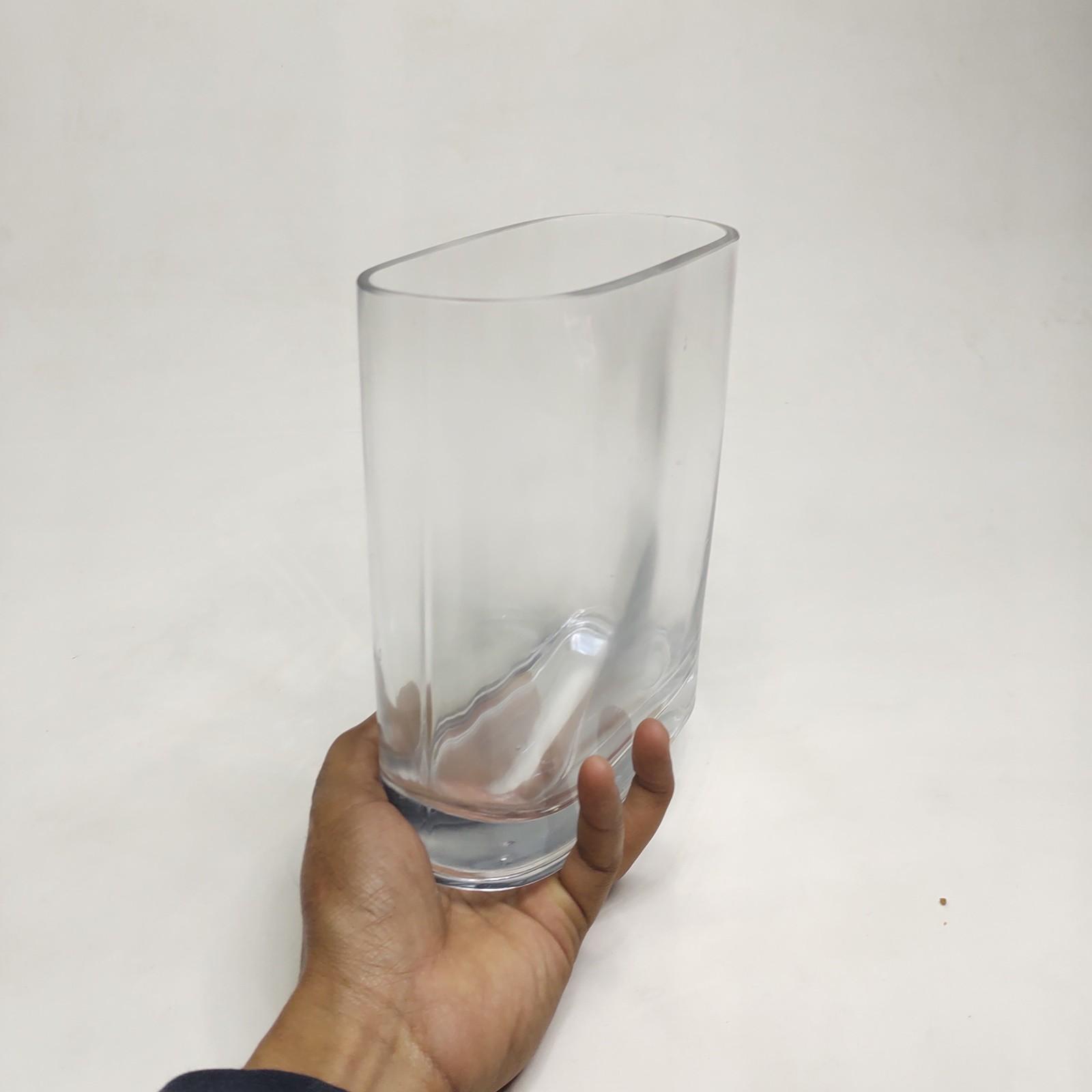 Vaso de Vidro Retangular NH