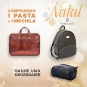 PROMOÇÃO DE NATAL, PASTA + MOCHILA =  CARTEIRA GRATIS!