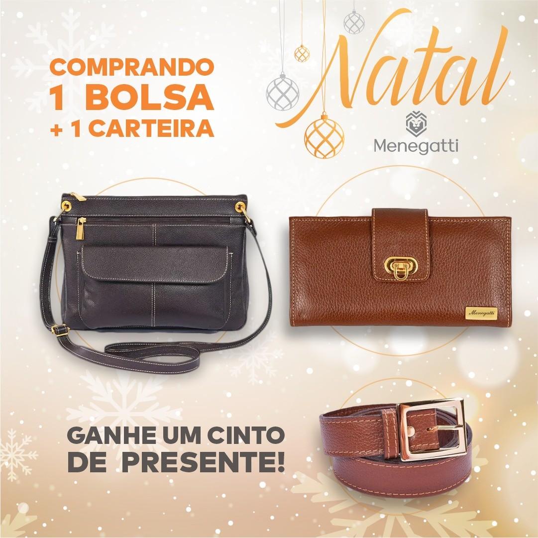 BOLSA TRANSVERSAL + CARTEIRA = CINTO DE PRESENTE!
