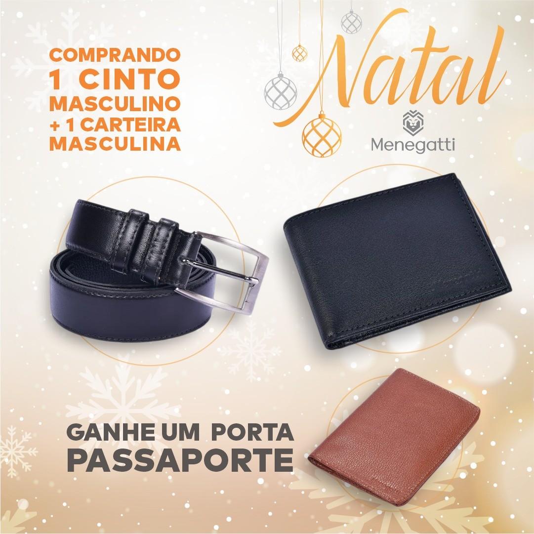 CINTO MASCULINO + CARTEIRA MASCULINA =  PORTA PASSAPORTE GRATIS