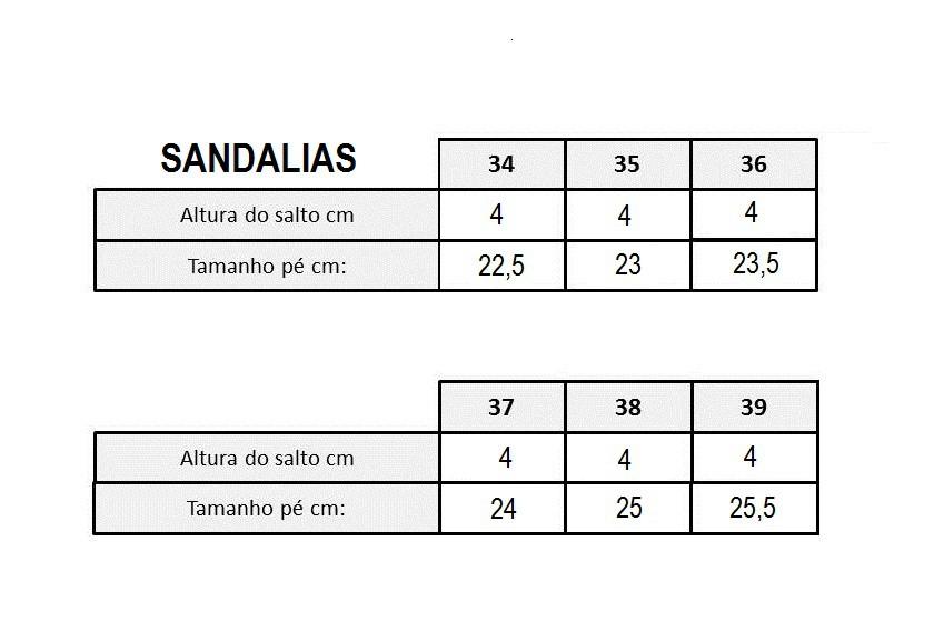 SANDALIA CONFORTO