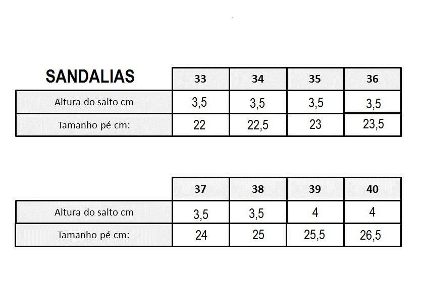 SANDALIAS CONFORTO