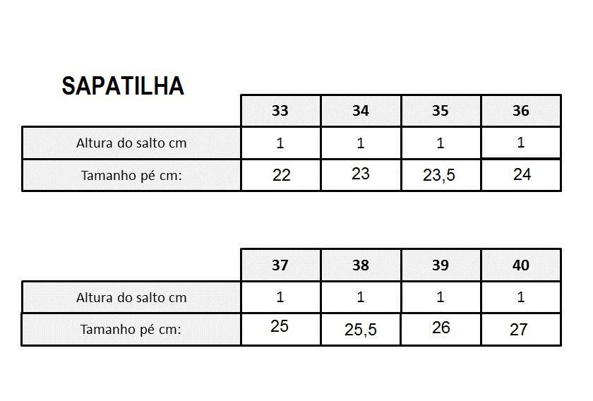 SAPATILHA EM COURO PRETO