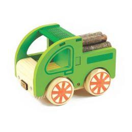 Coleção Carrinhos de Madeira - Caminhão, da NewArt - Cód. 356