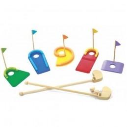 Brinquedo de madeira Minigolfe, da NewArt - Cód. 295