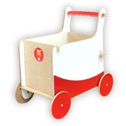 Carrinho Baú Vermelho, da Top Toy - Cód. Top-112