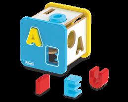 Cubo Didático de Letras, da Junges - Cód. J-852