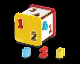 Cubo Didático de Números, da Junges - Cód. J-853