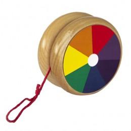 Ioiô colorido de madeira, da Fábrika dos Sonhos - Cód. FS50