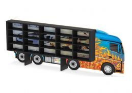 Painel Expositor para 20 carrinhos (da Hot Wheels ou similares), da Junges - Cód. J-095