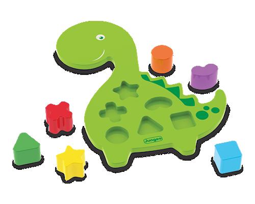 Animais Didáticos – Dino, da Junges - Cód. J-864