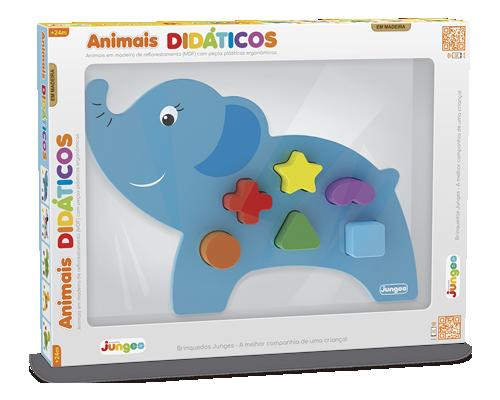 Animais Didáticos – Elefante, da Junges - Cód. J-860