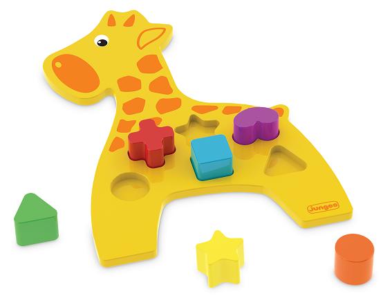Animais Didáticos – Girafa, da Junges - Cód. J-863