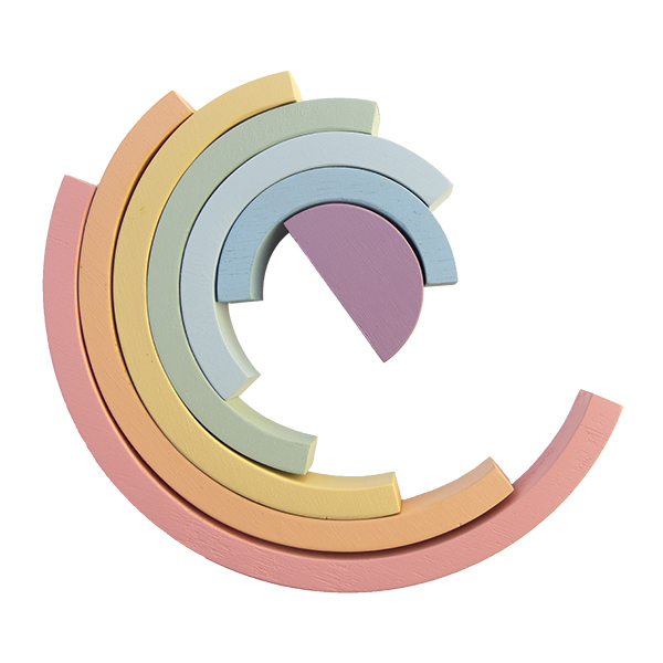 Arco-íris (mais largo) Candy, da Fábrika dos Sonhos - Cód. FS15L