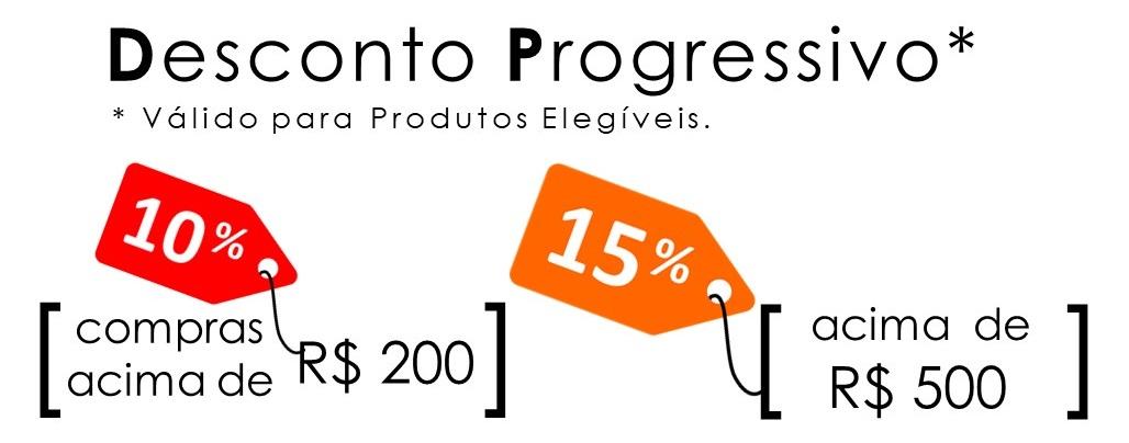 Compre R$ 200 ou mais e ganhe 10% de desconto* !