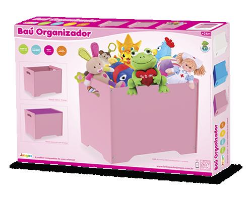 Baú organizador (Rosa ou Azul), da Junges - Cód. J-900 ou J-901