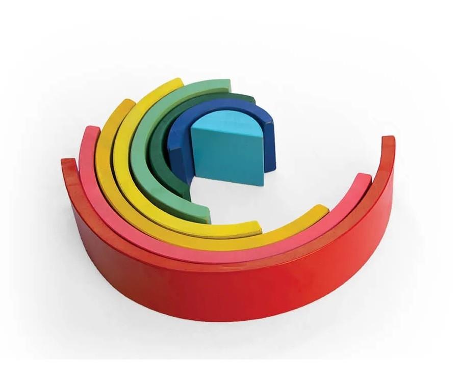 Brinquedo de madeira - Arco-íris, da Lume - Cód. LM-90