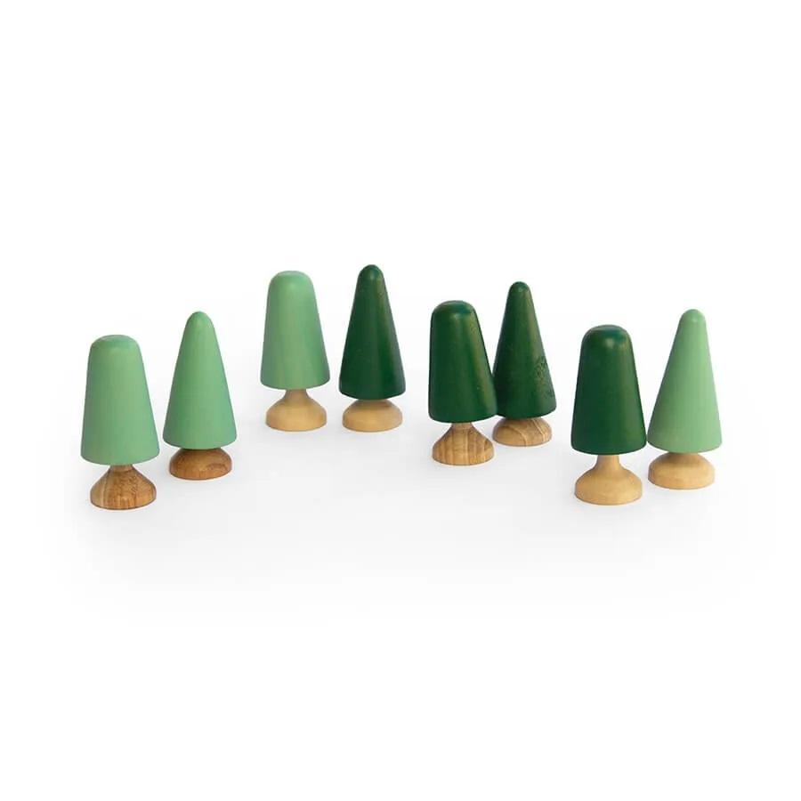Brinquedo de madeira - Árvores, da Lume - Cód. LM-83