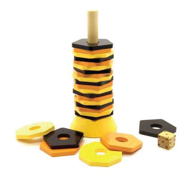 Brinquedo de madeira Bezette, da NewArt - Cód. 269