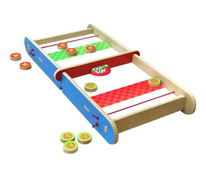 Brinquedo de madeira Desafio 2 em 1, da Top Toy - Cód. Top-181
