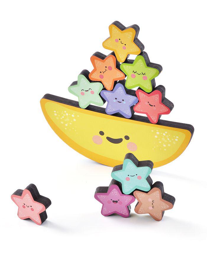 Brinquedo de madeira Equilibrando Estrelinhas, da BaBeBi - Cód. 6031