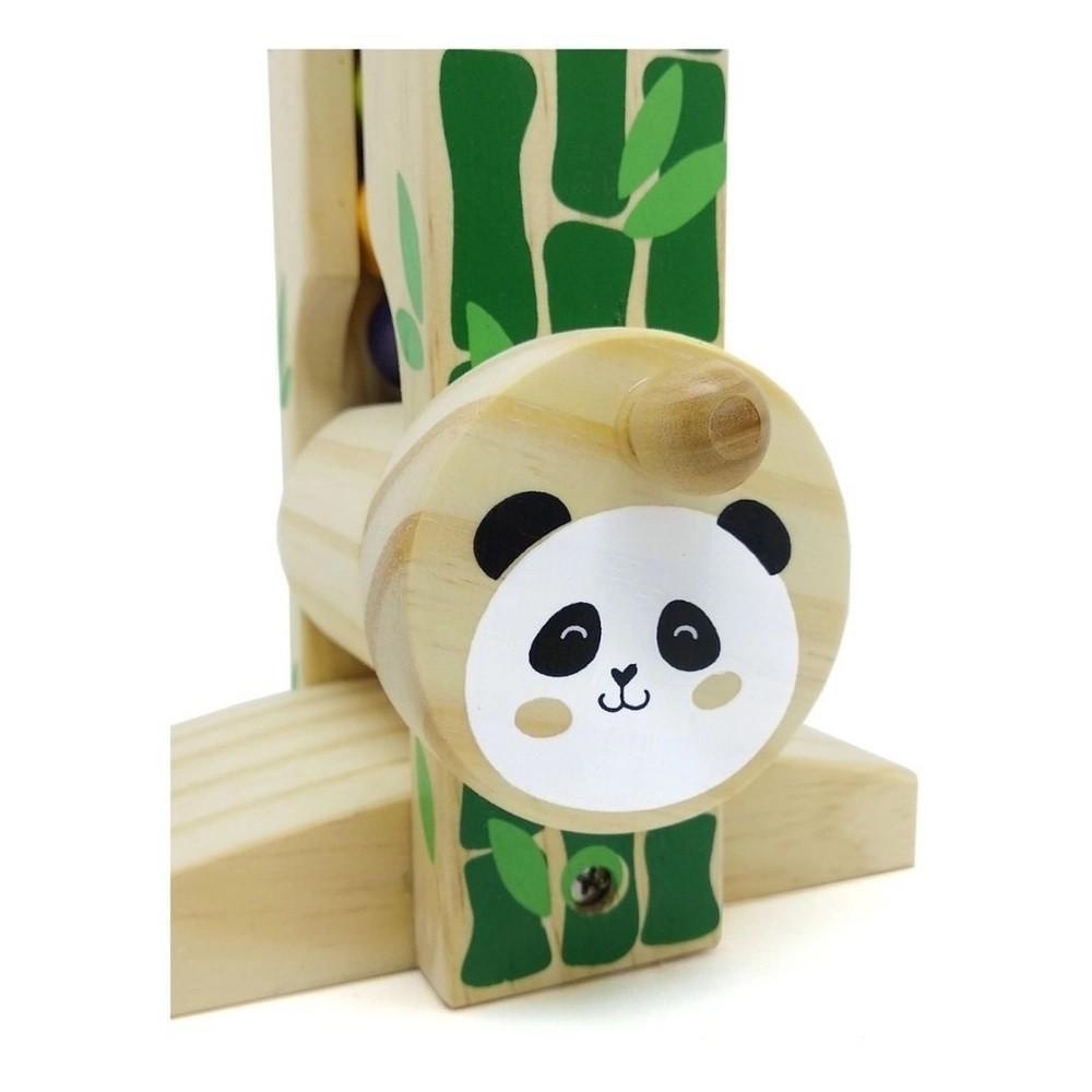 Brinquedo de madeira Manivela Maluca, da NewArt - Cód. 204