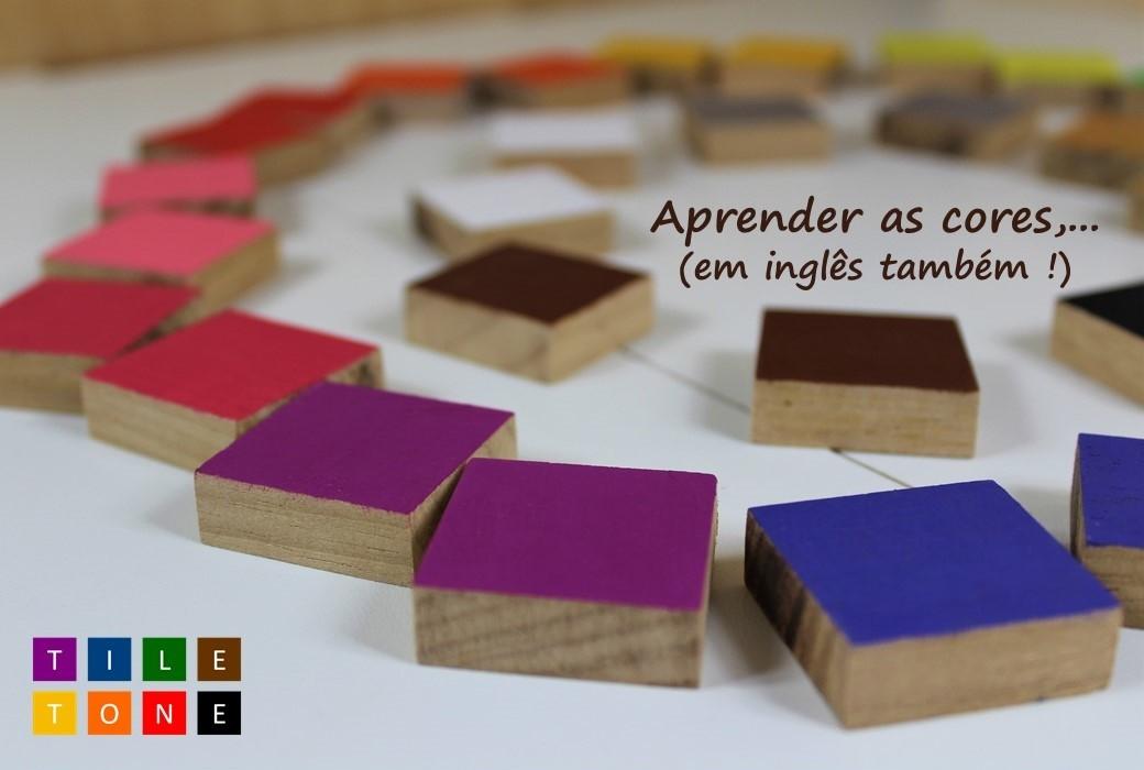 Brinquedo de madeira - TileTone, da Cute Cubes - Cód. CC301