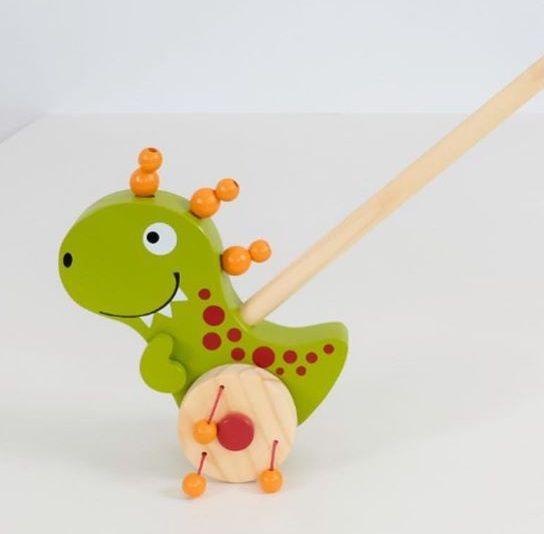 Brinquedo Empurrar - Dino, da NewArt - Cód. 177