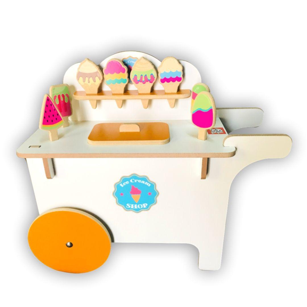 Carrinho de Sorvete, da Top Toy - Cód. Top-110