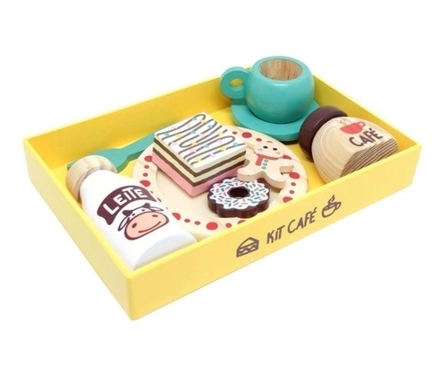 Coleção Comidinhas - Kit Café, da NewArt - Cód. 387