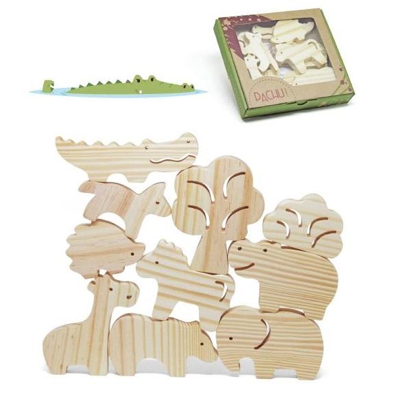 Combo de 3 kits - Animais da Selva + do Mar e + da Fazenda, da Pachu - Cód. P-07-12-13
