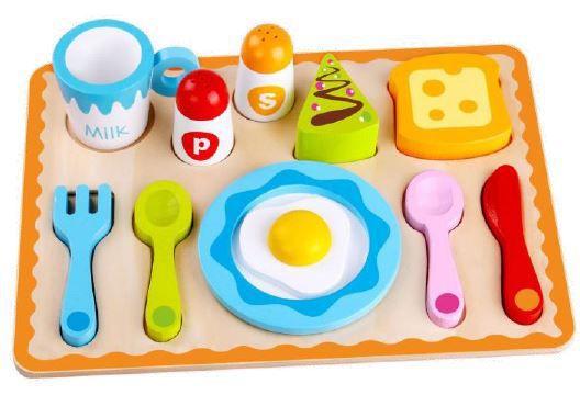 Conjunto Café da Manhã, da Tooky Toy - Cód. TKG-041