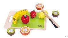 Conjunto Corte de Frutas, da Tooky Toy - Cód. TKB-602