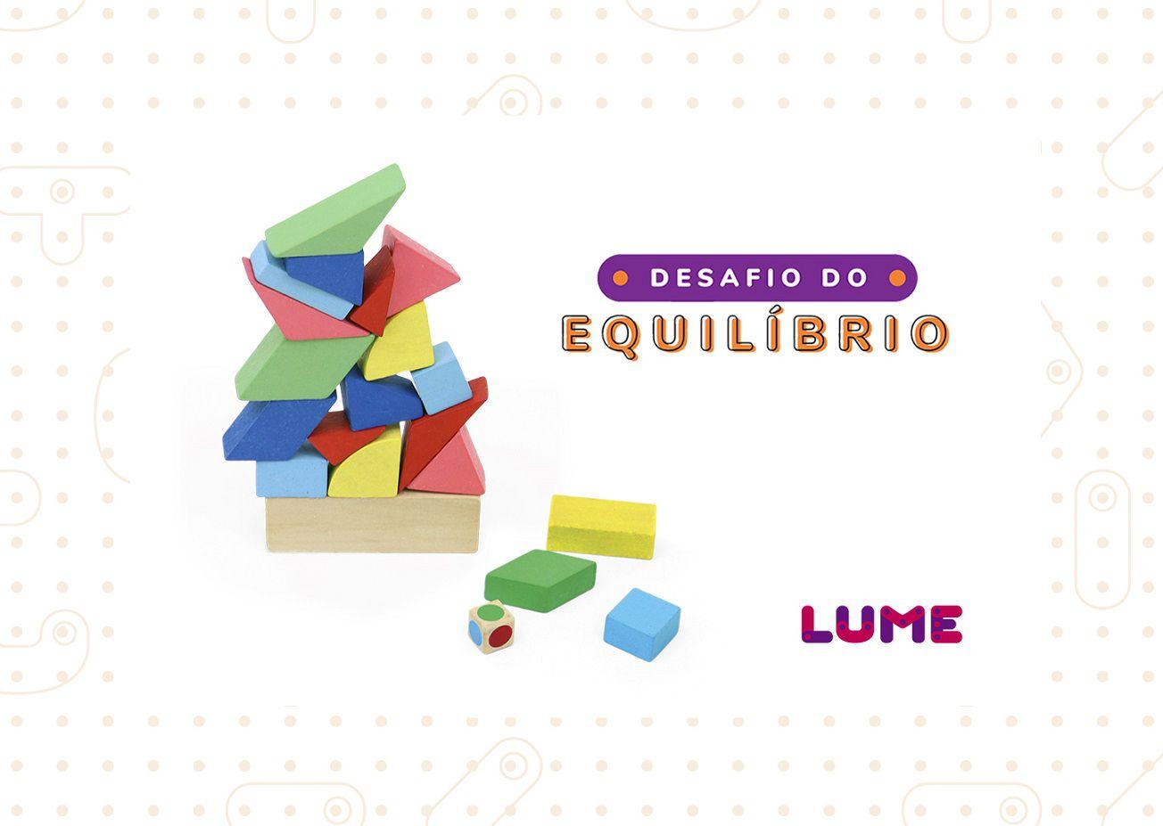 Desafio do Equilíbrio, da Lume - Cód. LM-41