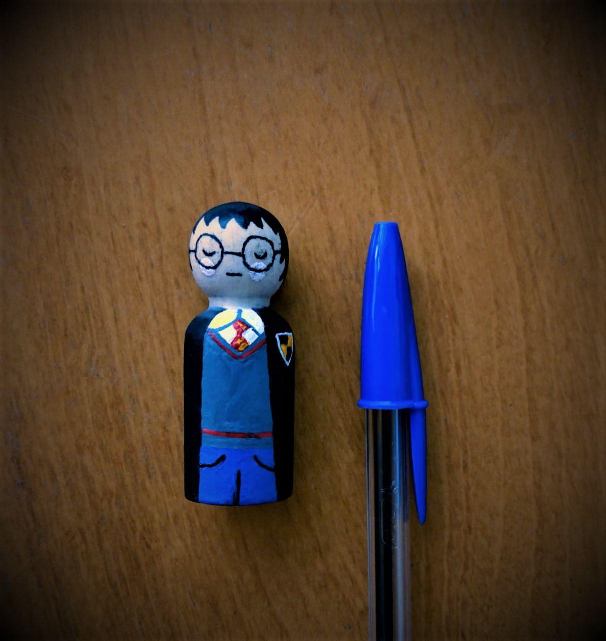 Peg Doll, bonequinho de madeira - Cód. Peg-003