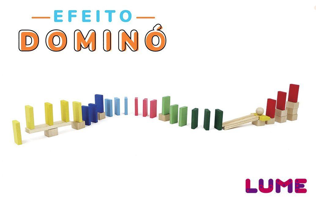 Efeito Dominó, da Lume - Cód. LM-21