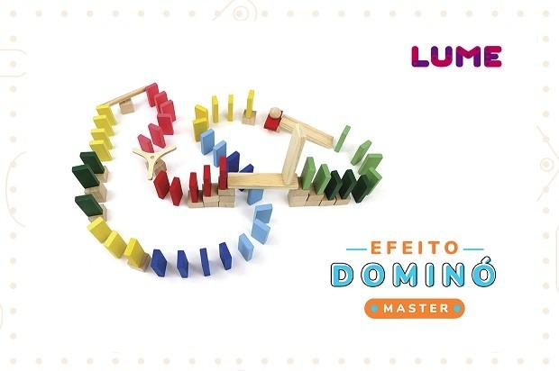 Efeito Dominó Master, da Lume - Cód. LM-20