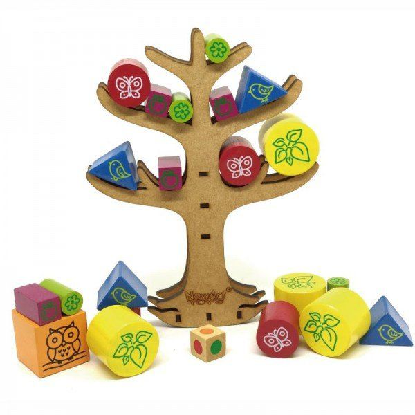 Equilíbrio na Árvore, da NewArt - Cód. 280