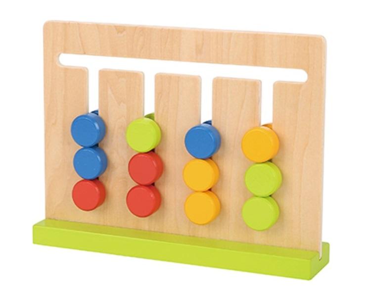 Jogo da Lógica, de Madeira, da Tooky Toy - Cód. TF597