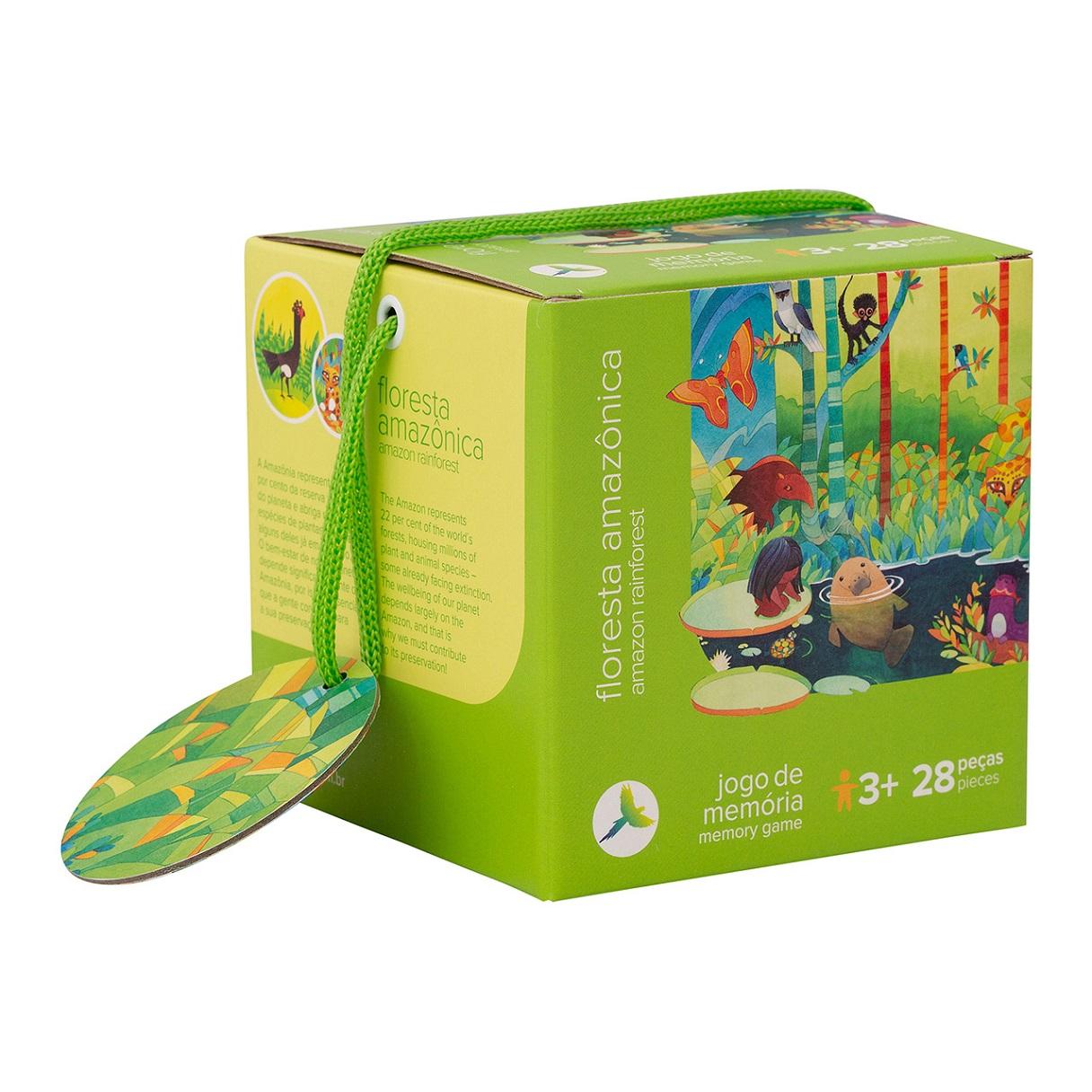 Jogo da Memória - Floresta Amazônica, da Araquarela - Cód. ARA-JM005