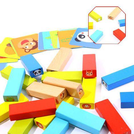 Jogo Jenga Animais, da Tooky Toy - Cód. TY704